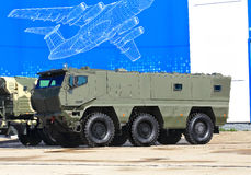 Universal armored car Stock Photography
