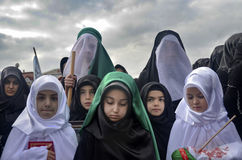 Universal Ashura Mourning Ceremony. Day of Ashura Stock Photography