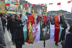 Universal Ashura Mourning Ceremony Stock Images