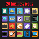 Universal business icon  vector Royalty Free Stock Image