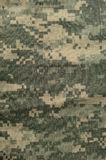Universal camouflage pattern, army combat uniform digital camo, USA military ACU macro closeup, detailed large rip-stop fabric Stock Images