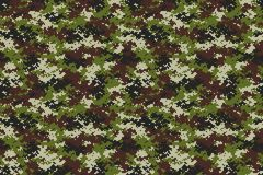 Universal Camouflage Pattern Vector Graphic royalty free illustration