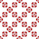 Universal casino chips seamless patterns Royalty Free Stock Photos