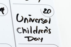 Universal children's day Royalty Free Stock Photography
