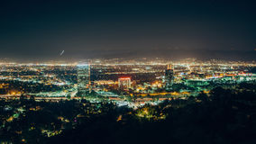 Universal City. Time-lapse of Universal City, CA stock video