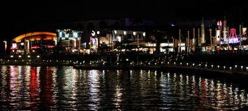 Universal City Walk in Orlando, Florida. Universal City Walk located in Orlando, Florida royalty free stock images