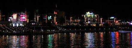 Universal City Walk in Orlando, Florida. Universal City Walk located in Orlando, Florida royalty free stock photography