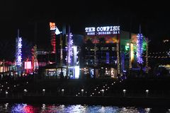 Universal City Walk in Orlando, Florida. Universal City Walk located in Orlando, Florida royalty free stock photo