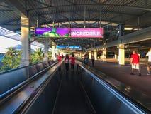 Universal Citywalk Escalators. The Escalators at Universal Citywalk in Orlando Florida Stock Photography