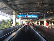 Universal Citywalk Escalators Stock Photography