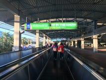 Universal Citywalk Escalators Stock Image