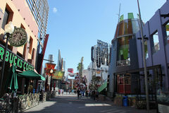 Universal CityWalk Hollywood Royalty Free Stock Photos