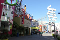 Universal CityWalk Hollywood Stock Photos
