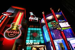 Universal CityWalk Osaka Royalty Free Stock Images