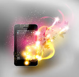 Universal design phone Royalty Free Stock Image