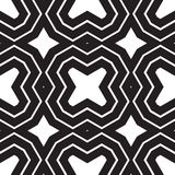 Universal different geometric seamless patterns. You can be used vector monochrome geometric ornaments for wallpaper, pattern fills, web page background Royalty Free Stock Image