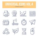 Universal Doodle Icons vol.4 Stock Photo