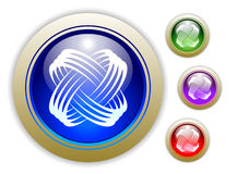 Universal Dynamic Icon Button Set of Four Stock Photography