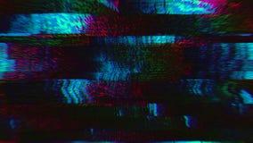Universal dynamic vaporwave elegant iridescent background. Old tape footage.