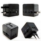 universal för ström för adapterpropp arkivfoto