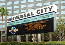 universal för tema för park för brädestadsstort festtält Arkivfoton
