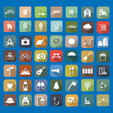 49 Universal Flat Icons. 49 Universal Icons Available for your designs Vector Illustration