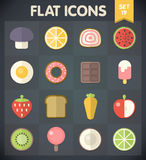 Universal Flat Icons for Web and Mobile Set 19 Royalty Free Stock Photo