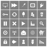 Universal Flat Vector Icons Set 2. This is file of EPS8 format Stock Photos