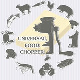Universal food chopper Stock Photography