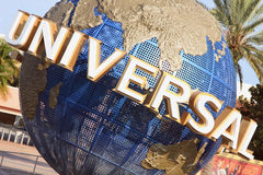 Universal Globe in Orlando, Florida. Orlando,FL - July 30: Universal Studio Globe on July 30, 2011 in Orlando. Universal Studio is one of the famous parks in Stock Image