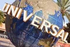 Universal Globe in Orlando, Florida Stock Image