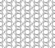 Vector seamless geometric pattern with editable weight of stroke. Universal high quality seamless geometric pattern with editable weight of stroke, clipping mask Stock Photography