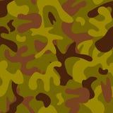 Universal hunter khaki seamless pattern abstract fill military background vector illustration. stock illustration