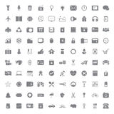 100 universal icon Royalty Free Stock Photo