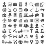 Universal icon set. 64 icons Stock Images