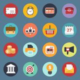 Universal icon set for websites and mobile applications. Flat vector illustration Royalty Free Stock Image