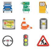 Universal icons Royalty Free Stock Image