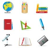 Universal icons Royalty Free Stock Images