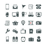 Universal icons Royalty Free Stock Photo