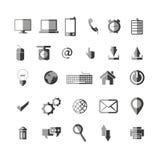 Universal Icons  - flat Vector illustration Royalty Free Stock Photos