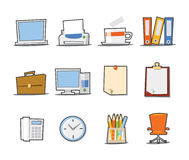 Universal Icons Fresh Collection - Set 2 Royalty Free Stock Photography