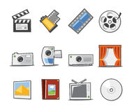 Universal Icons Fresh Collection - Set 4 Royalty Free Stock Photos