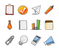 Universal Icons Fresh Collection - Set 7. Professional icons for websites, applications or presentations Stock Photos