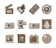 Universal Icons Retro Fresh Collection - Set 4 Royalty Free Stock Photography