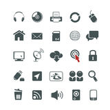 Universal icons set Royalty Free Stock Photo