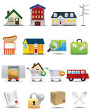 Universal icons Set -- Real Estate Icon Royalty Free Stock Photo