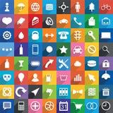 Universal Icons. stock illustration