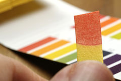 Universal indicator paper Royalty Free Stock Photography