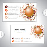 Universal Industrial business card Stock Photos