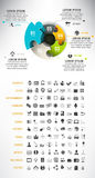 Universal infographic Royalty Free Stock Images
